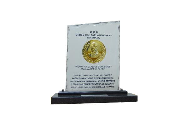 Prêmio Destaque Hotelaria Dr. Ulysses Guimarães | Hotel Taiyo - Caldas Novas