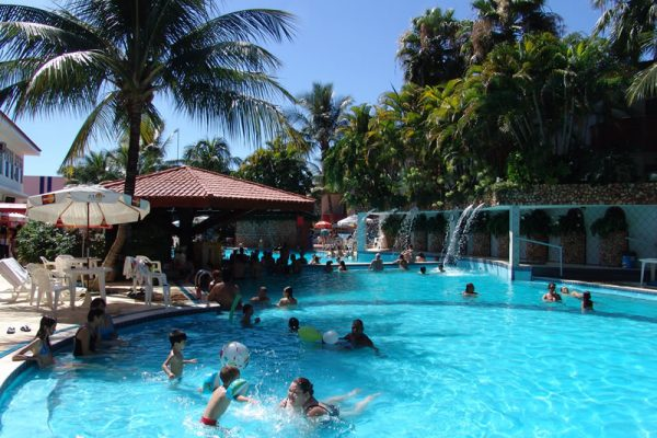 Piscina   Parque Aquático Hotel Taiyo - Caldas Novas