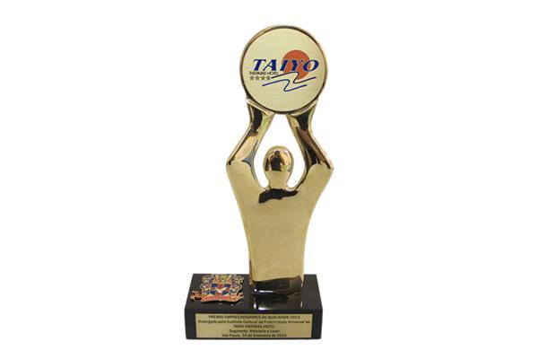 Prêmio Empreendedores de Qualidade 2013 | Hotel Taiyo - Caldas Novas