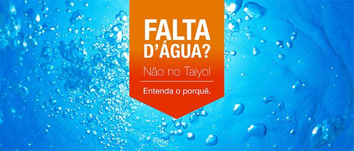 Abastecimento de água Hotel Taiyo
