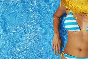 Cuidados de verão na piscina